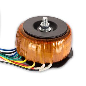 110V/220V 50W Toroidal transformer for Tube Amplifier 220V-0-220V 0-6.5V 0-10V