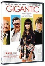 Gigantic Movie DVD Indie Comedy Drama Zooey Deschanel Paul Dano John Goodman