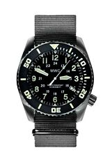 MWC Dephtmaster 1000mt Automatic Black Steel Sapphire Ceramic Diver Men's Watch