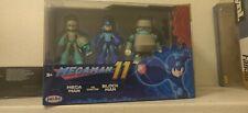 MegaMan 11 Action Figure Set Mega Man vs Block Man Jakks Pacific - Brand New.