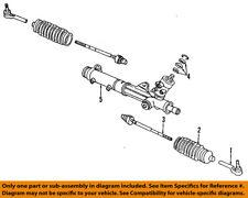 GM OEM Steering Gear-Inner Tie Rod End 15221006