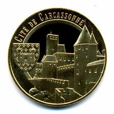 11 CARCASSONNE Cité, Château et blason, 2020, Monnaie de Paris
