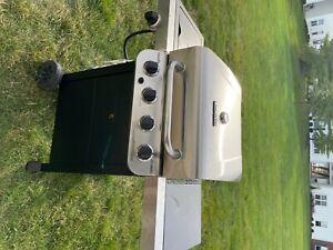 charbroil 4 burner gas grill with side burner