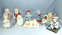 Heirloom Christmas Ornaments by Ashton Drake Yolanda Bello Babies Lot Of 10