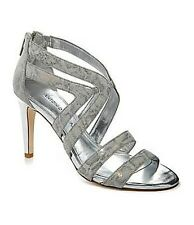 Antonio Melani 'Ella' Leather Snakeprint Strappy Sandals Sz 10 New