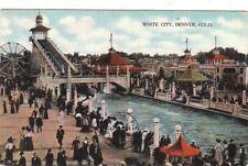 Postcard White City Denver Co