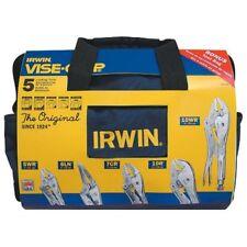 Irwin Vise-Grip 5 Piece Original Locking Pliers with Kit Bag