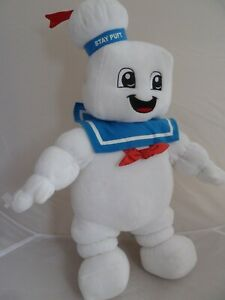 """BUILD A BEAR RARE GHOSTBUSTERS STAY PUFT SOFT TOY - LARGE OVER 20"""" TALL"""