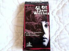 ALL OF THEM WITCHES VHS SOBRENATURAL MEXICAN HORROR SPANISH MEXICO VOODOO DRAMA