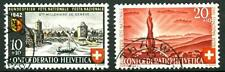 """SWITZERLAND - SVIZZERA - 1943 - """"Pro Patria"""": Bimillen. della città di Ginevra"""