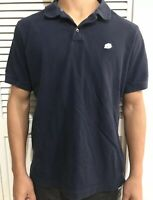 Banana Republic Polo Navy Blue Shirt Short Sleeve Mens Sz Medium