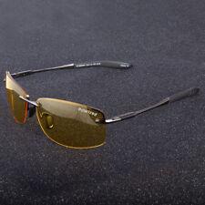 Men's Night Driving Polarized Sunglasses Outdoor Fishing Sport Eyewear Yellow
