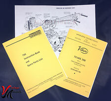 Howard Clifford - 700 Rotovator + Villiers Mark 28B Engine Manuals - A4