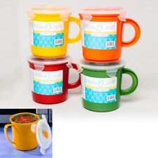 1 BPA Free Take Out Soup Coffee Mug Cup 24 Oz Microwave Safe Food Container
