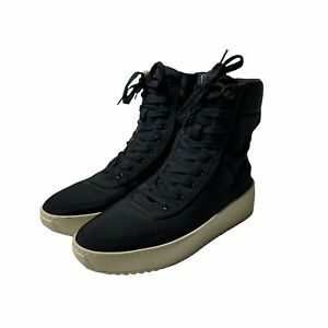 Fear Of God  Military Sneaker Boots Black Nylon Size 40