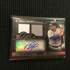 2017 TOPPS MUSEUM MICHAEL CONFORTO *JERSEY PATCH AUTO #31/199*  NEW YORK METS