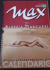 Calendario max 1998 - ALESSIA MARCUZZI hot sexy