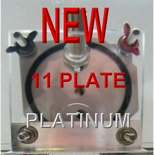 AAA HHO 11 PLATE PLATINUM  DRY CELL HYDROGEN STARTER KIT. ALL ONE TOUCH FITTINGS
