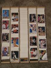 1989 Upper Deck  Baseball Approximately 1360 Card Lot