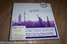 City Lounge Volume 4 Paris Berlin London New York Cool Tempo Music New 4 CD Box