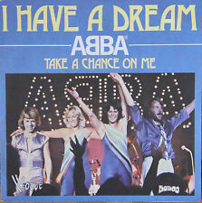 "Vinyle 45T Abba  ""I have a dream"""