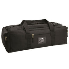 MILTEC Black Combat Duffle Bag 65l Travel Camping Best