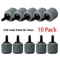 10 PCS Air Bubble Disk Stone Aquarium Aerator Fish Tank Pump Hydroponics Plate