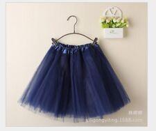 Girls Kids Tutu Party Ballet Dance Wear Dress Skirt Pettiskirt Costume 2-7 Y