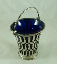 More details for georgian old sheffield plated sugar basket a705817