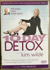 Michael Van Straten's 10 Day Detox With Kim Wilde (DVD, 2004) Includes Booklet