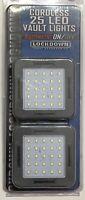 LOCKDOWN, 222008 Cordless Automatic 25 LED Vault Light (2 Pack)