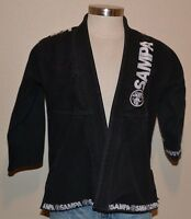 Sampa BJJ GI Kamino JIU- Jitsu MMA Brazilian Academy Black M-3