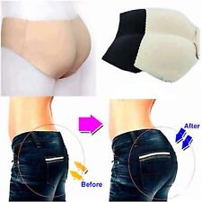 Lady Padded Seamless Butt Hip Enhancer Shaper Panties Underwear Push Up Briefs