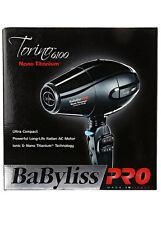 BaByliss Pro Nano Titanium Torino Dryer BABNT6160N 2000 watt Italian AC motor