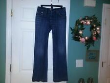 Women's DOLCE & GABBANA Boot Cut Medium Distressed Wash Jeans Size 42