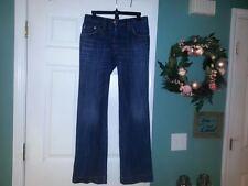 Women's DOLCE & GABBANA Boot Cut Medium Distressed Wash Jeans Size 42