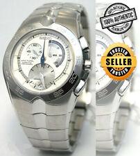 SEIKO Arctura Kinetic SNL023 SNL023P1 Chronograph Sapphire 100m Steel Watch