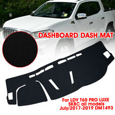 For LDV T60 PRO LUXE SK8C July/2017-2019 DM1493 Dashboard Dash Mat Cover Carpet