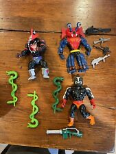Vintage he-man action figures lot