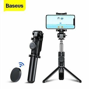 Baseus Extendable Selfie Stick Phone Tripod Bluetooth Remote Shutter Monopod