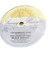 Band Of The Black Watch- Sands Of Time 1982 Single