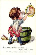 WW1 WWI Propaganda - A. Wuyts - Barbiere, Bambino Soldato, Child Soldier - PV571
