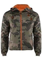 Mens/Boys Rock & Revival Camouflage Print Windbreaker Jacket. SIZE LARGE