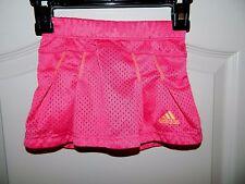 Girl's Adidas Hot Pink & Orange Tennis Skirt Size 2T