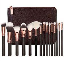 Professionell Make-up Bürsten Set Grundierung Kabuki Make up Pinsel 15 Stück