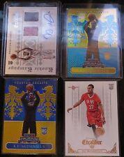 2014-15 Panini Excalibur KJ McDaniels Rookie Card Lot - 4 cards