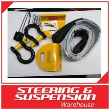 NISSAN NAVARA D40 HEAVY DUTY ROADSAFE RECOVERY TOW POINTS WITH BRIDLE & SHACKLES
