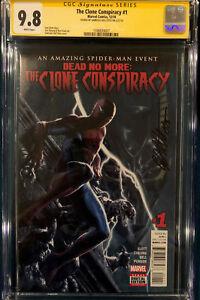 Gabriele Dell'Otto SIGNED CGC 9.8 COMIC BOOK Spider-Man Movie Clone cbcs Venom
