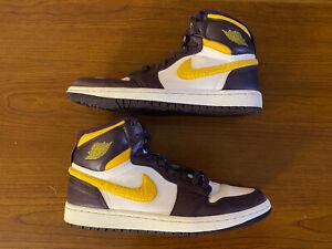"Nike Air Jordan 1 High Strap ""Grand Purple"" (342132-571) Size 10.5"