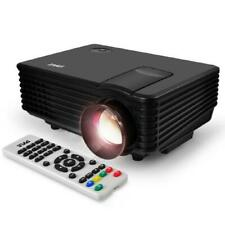 Digital Multimedia Projector, Hd 1080p Up to 80' inch Display + Ceiling Mount